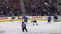 Krejci finds Milan Lucic to score one-timer