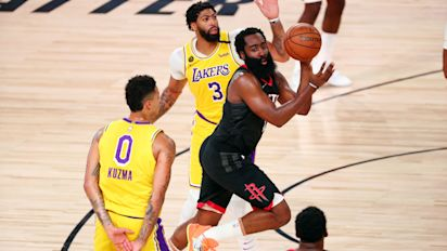 Rockets expose LeBron-less Lakers' vulnerabilities
