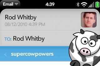 Yes, there is a cow mode in webOS 2.0