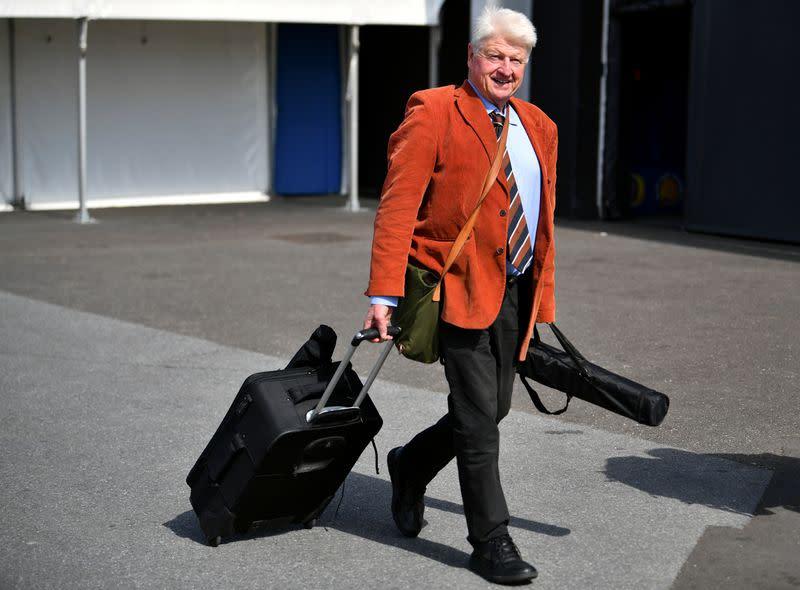 British PM's father defends trip to Greece despite COVID-19 advisory