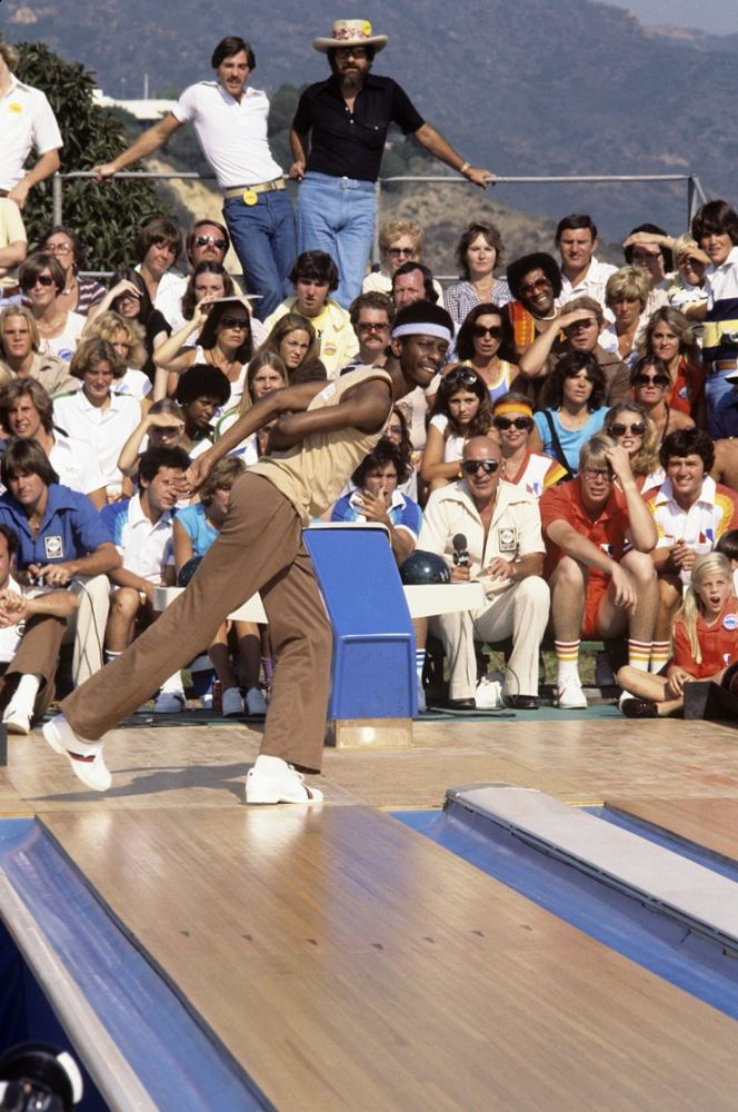 Jimmie Walker on ABC's Battle of the Network Stars. (Photo Credit: ABC Photo Archives/Getty Images)