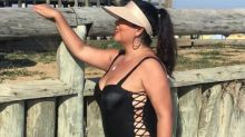Após emagrecer, Fabiana Karla surge de maiô e recebe elogios