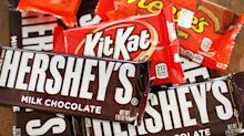 Hershey says shoppers are buying fewer snacks and sweets as unemployment soars