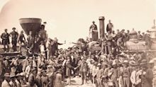 Union Pacific Recreates Historic Steam Meet, Commemorating 150th Anniversary of the Transcontinental Railroad's Completion