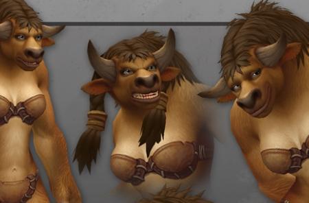 World of Warcraft shows off revamped Tauren ladies