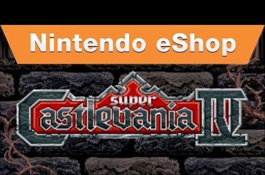 Super Castlevania 4 haunts Wii U eShop on Halloween