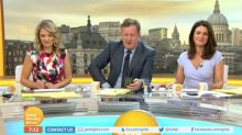 Piers Morgan forced to apologise live on air after Charlotte Hawkins BAFTA swipe