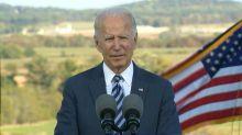 Biden denounces white supremacists