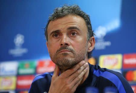 Luis Enrique pide a la afición que ayude a otra remontada contra la Juve