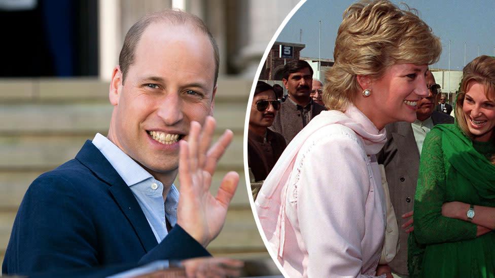 Prince William to 'honour' Princess Diana on Pakistan tour with special visit