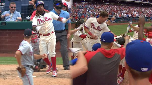 759d3063 Harper a hit without connecting as Phils win debut