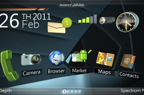 Kanzi: ZTE's 3D UX for ICS handsets