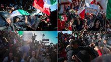 FOTOS | Tijuana se calienta por protestas antimigrantes