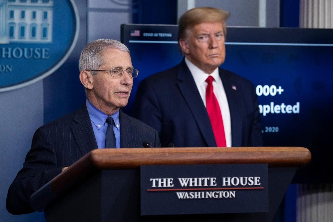 Trump says his relationship with 'alarmist' Fauci is 'very good'