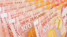 The New Zealand dollar falls significantly during the trading session on Friday