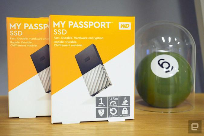 Engadget giveaway: Win a 1TB My Passport SSD courtesy of Western Digital!