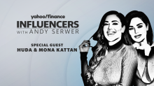 Huda Beauty's Huda and Mona Kattan joins Influencers with Andy Serwer