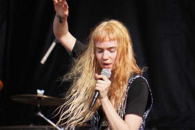 Grimes at Bluesfest Ottawa 2012
