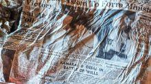 Découverte de journaux, vestiges du crash d'Air India en 1966, sur le Mont-Blanc