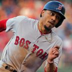 "5'9"": Mookie Betts, Boston Red Sox, RF"