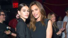Cindy Crawford and Daughter Kaia Gerber, 16, Twin at Pre-Met Gala Party