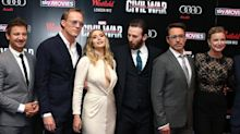 Elizabeth Olsen Bewitched Chris Evans At The Captain America: Civil War Premiere