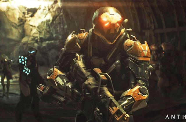 'Anthem' update adds a dungeon crawl, but delays Cataclysm