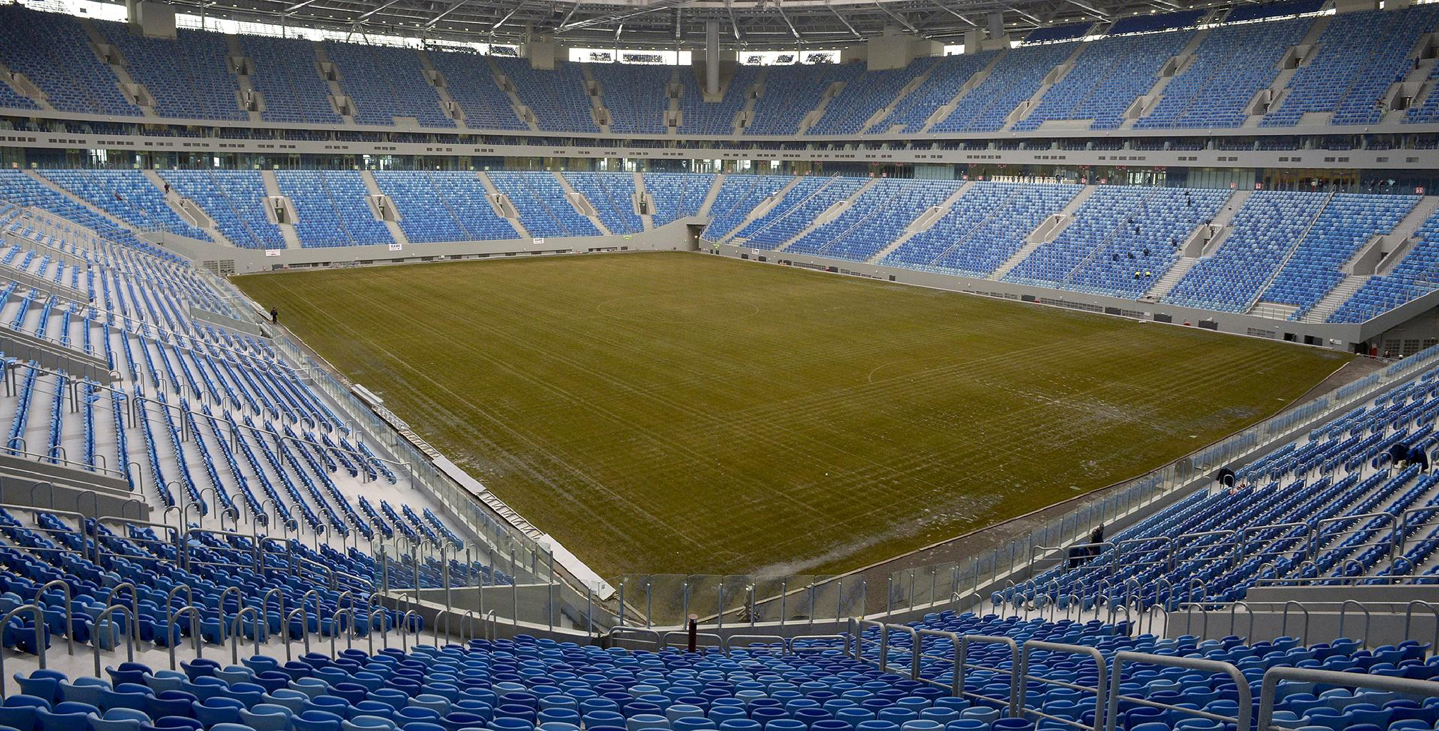 Media: The Zenit Arena field was declared unfit for competition 03.11.2016 30