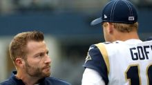 """Two-year rewind: Sean McVay says it's """"insane"""" to think Jared Goff is going anywhere"""
