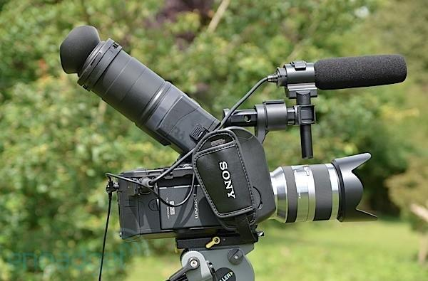 Sony NEX-FS100 review