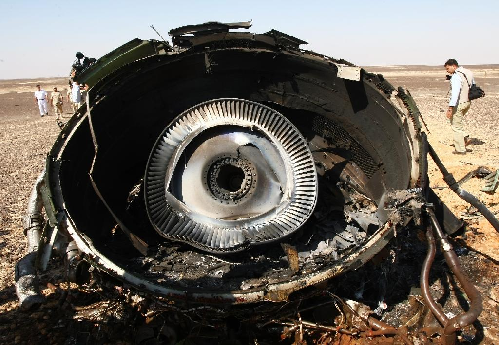 Investigators are pursuing their probe of a mysterious Russian airliner crash in the Sinai Peninsula (AFP Photo/Maxim Grigoryev)