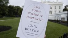 White House 'pressured official to say John Bolton book was security risk'