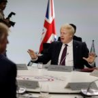 Trump, UK's Johnson discuss Huawei on G7 sidelines