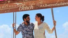 Coronavírus: Casal vive lua de mel sem fim durante pandemia