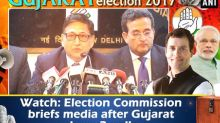 Watch: Election Commission briefs media after Gujarat phase 2 polls