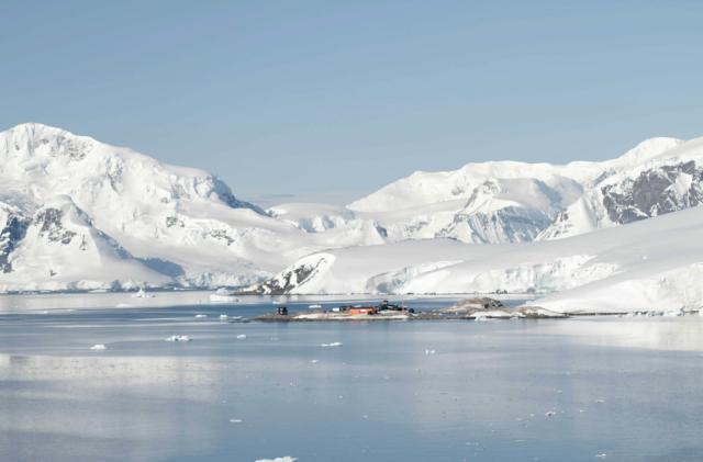 Study finds massive volcano range hidden in Antarctica's ice