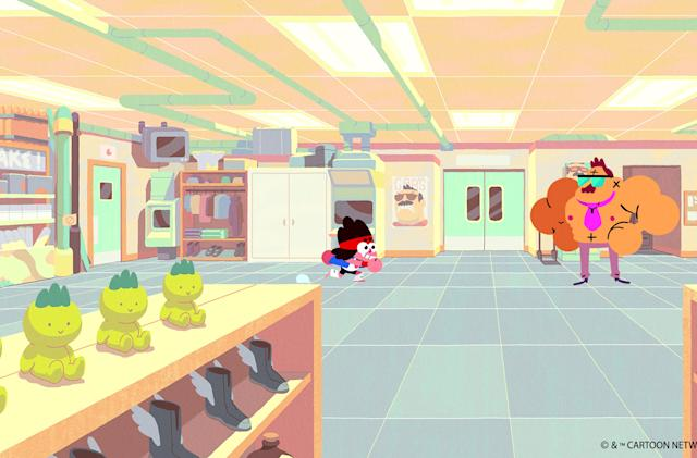 'OK K.O.' is a brilliant cartoon with a game to match