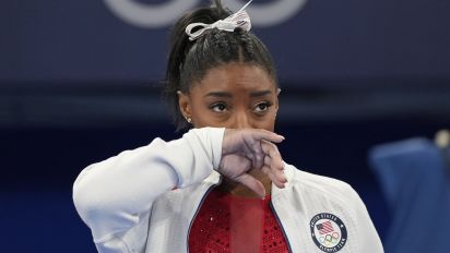 Pressure of perfection weighed on Biles