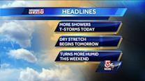 Cindy's Tuesday Boston area weather forecast