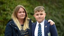 Mother calls school 'ridiculous' for removing son from lessons over short haircut