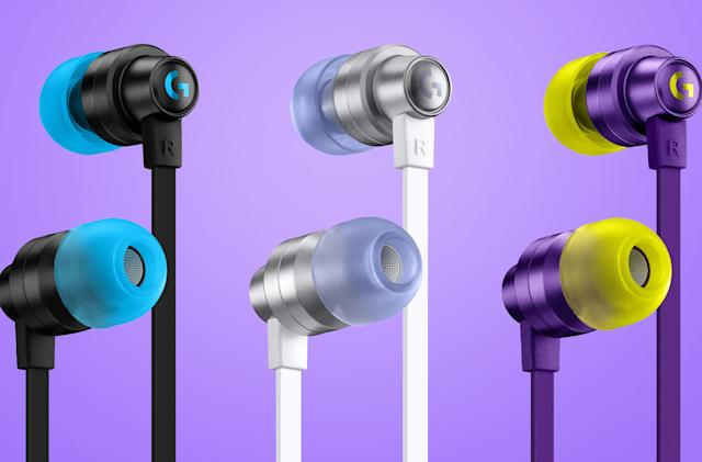 Logitech's first 'in-ear monitors' for gaming cost $50