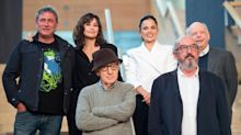 Gina Gershon, Wallace Shawn defend working with Woody Allen: 'A dream come true'