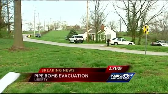 Police: Mother catches son, 13, making pipe bomb