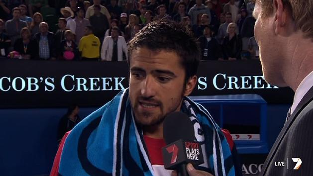 Post Match Interview: Janko Tipsarevic