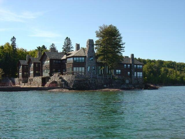 "<p>Louis G. Kaufman chose a peninsula jutting into Lake Superior, just north of the city of Marquette, Mich., for his grand ""wilderness escape,"" hoping to surpass similar ""camps"" built by uber-rich families of the day like the Vanderbilts, Astors, Guggenheims and Rockefellers.</p>"