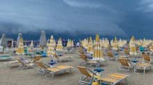 "Strana nuvola in Abruzzo e Molise: fenomeno ""shelf cloud"""