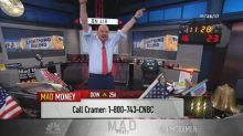 Cramer's lightning round: Don't be greedy, buy Celgene he...