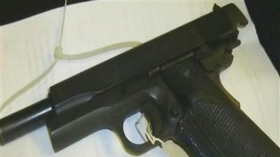 Gun found in grocery store meat