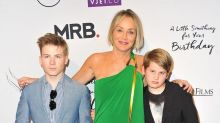 Sharon Stone's 3 Adopted Sons Are the Best Thing That's Ever Happened to Her