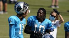 'What's that bear doing?' New Carolina Panthers receiver confused over team mascot species